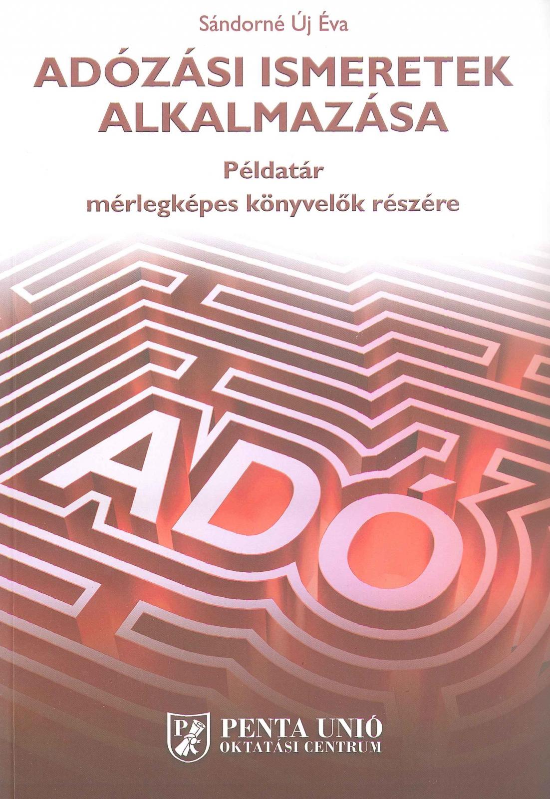 Adózási ismeretek alkalmazása (2019)
