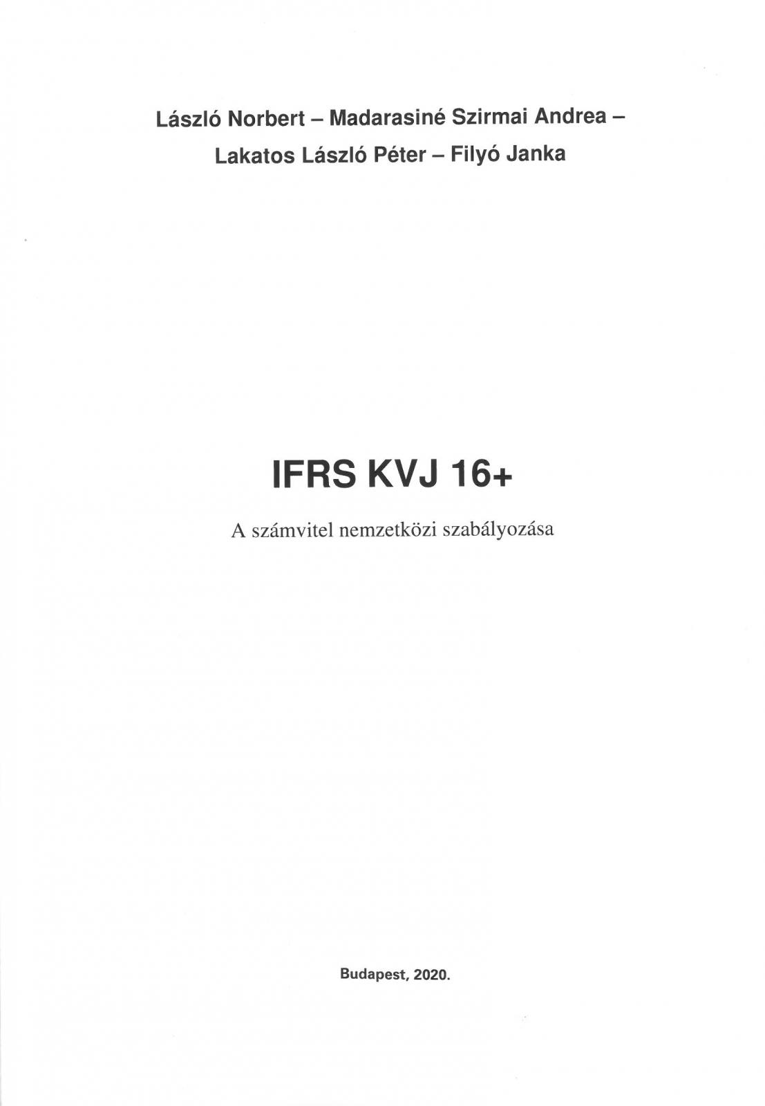IFRS KVJ 16+