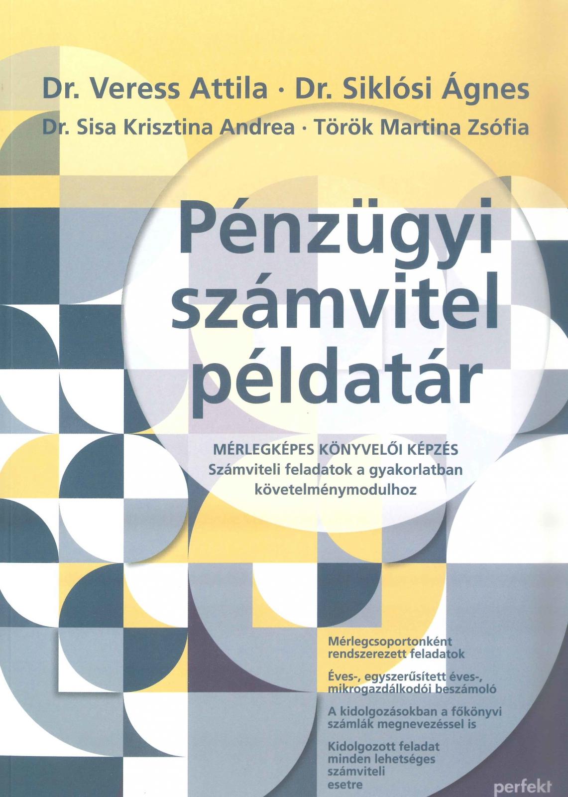 Pénzügyi számvitel példatár (PR-024-P/18)