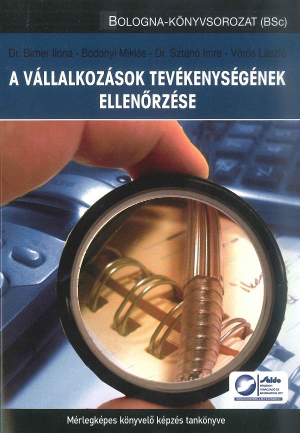 A vállalkozások tevékenységének ellenőrzése (Saldo)