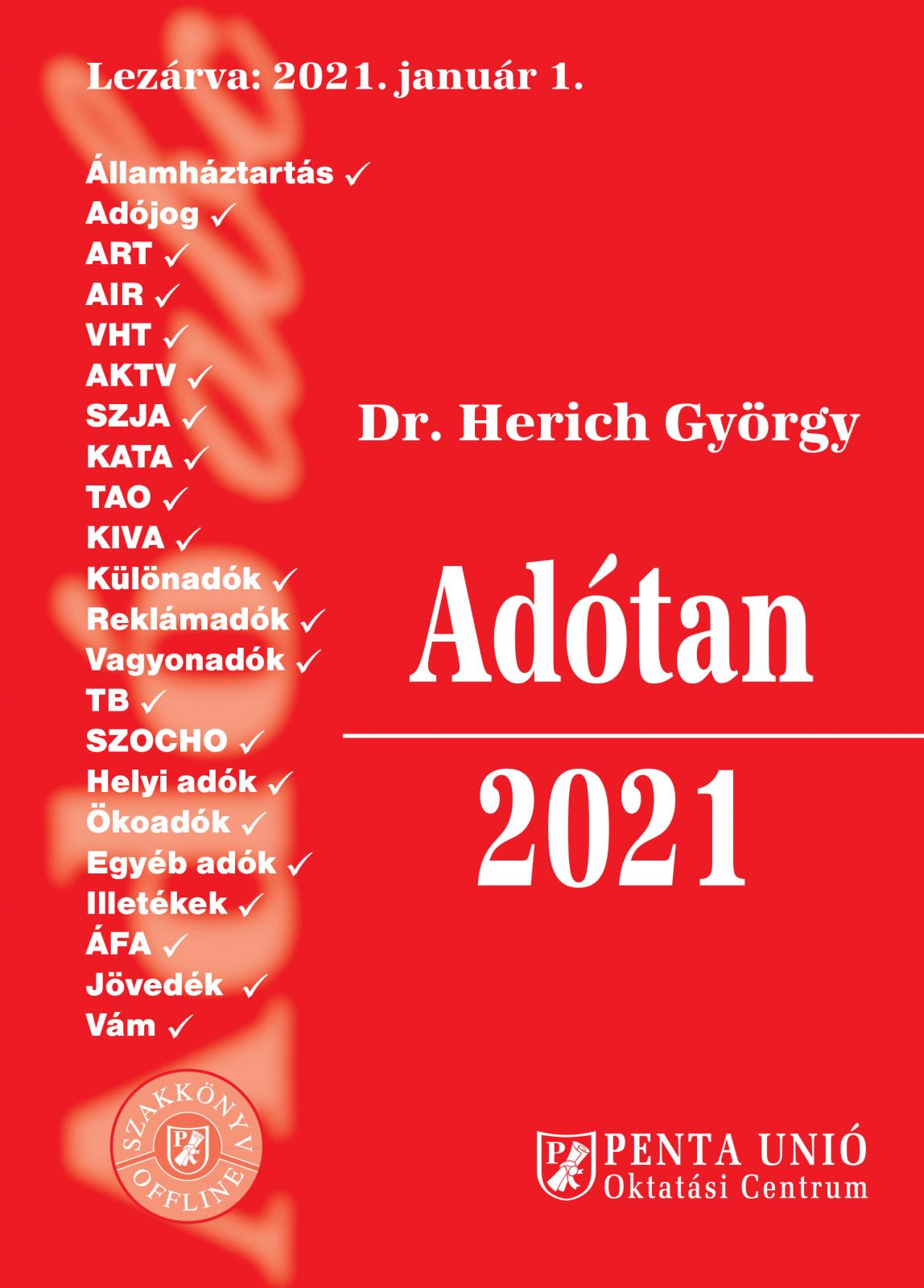 Adótan 2021