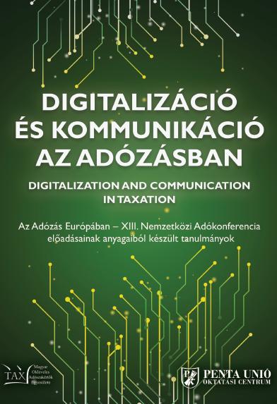 Digitalizáció és kommunikáció az adózásban