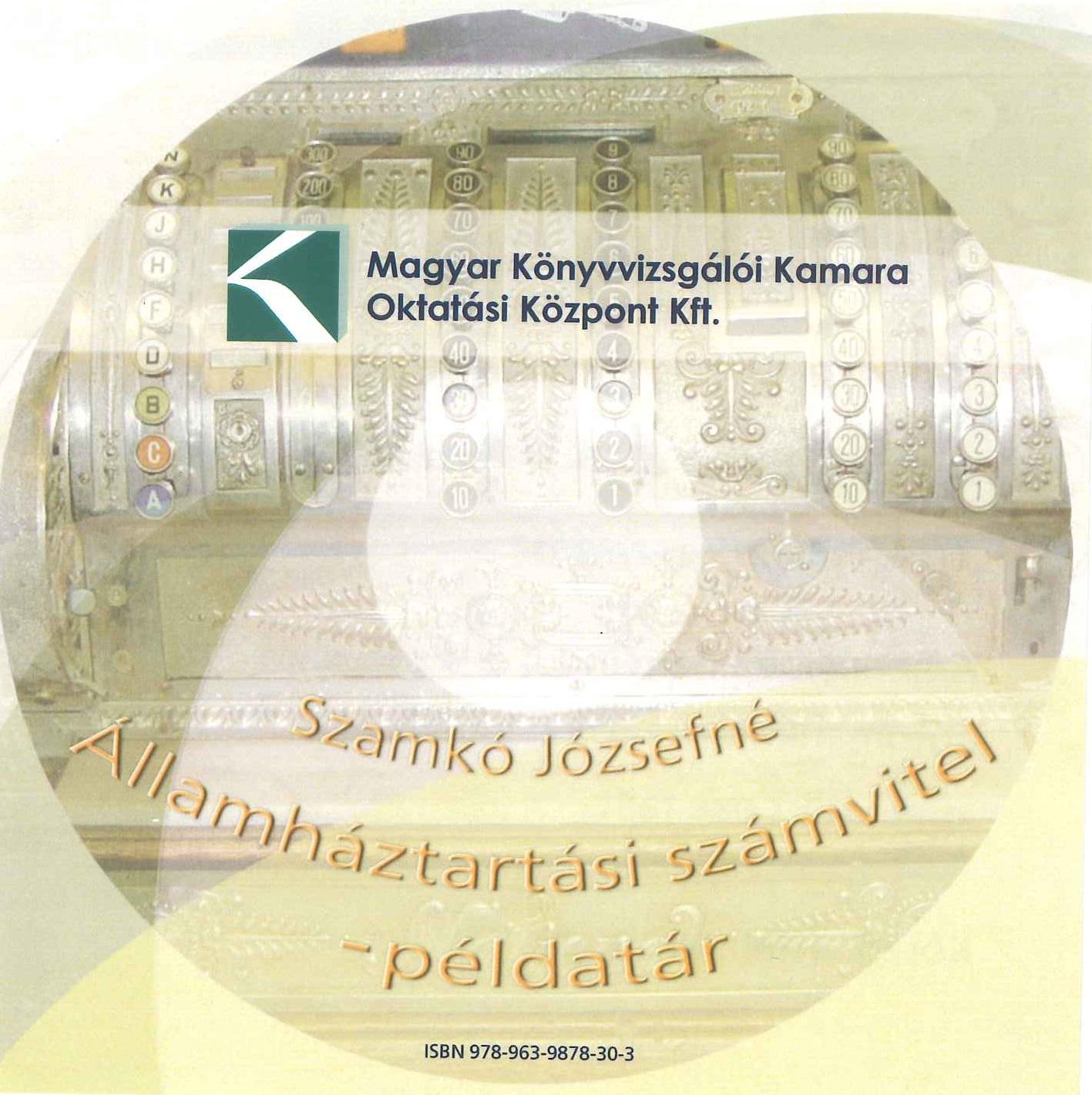 Államháztartási számvitel - példatár (CD)