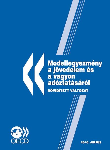 OECD Modellegyezmény a jövedelem és a vagyon adóztatásáról (2010)