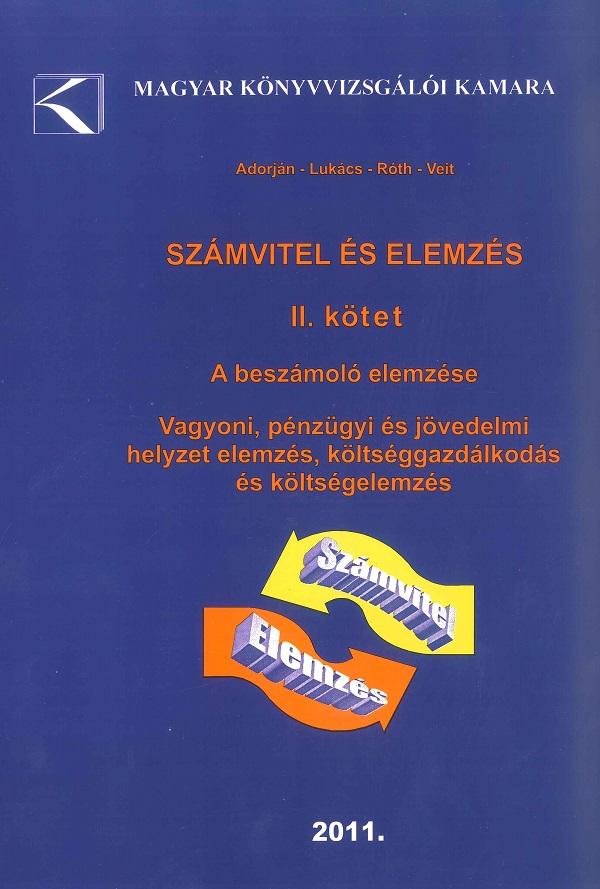 Számvitel és elemzés II. (MKVK)